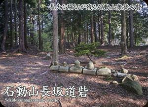 石動山長坂道砦 いしかわ城郭カード