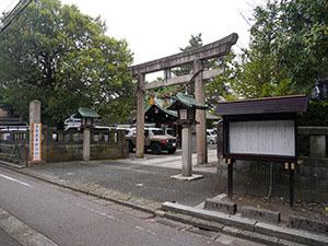 安江八幡宮・金沢水天宮