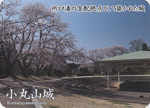 小丸山城 Ver.3.0 いしかわ城郭カード