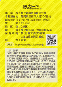 伊豆箱根鉄道 20.03