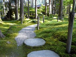 小松市「苔の園」