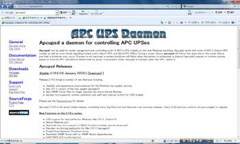 APC UPS Deamon