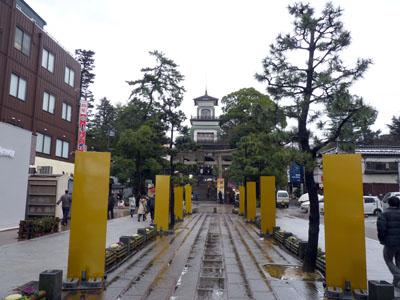 尾山神社 初詣