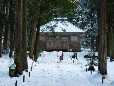 平泉寺白山神社 初詣