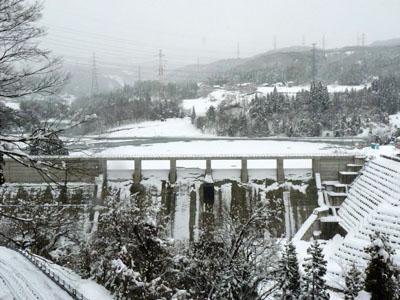辰巳ダム試験湛水