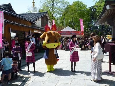 八重桜まつり・念仏赤餅つき