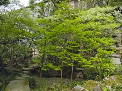 寺島蔵人邸庭園