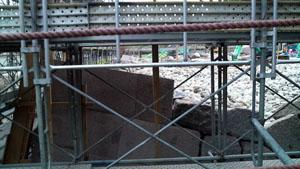 金沢城 いもり堀鯉喉櫓石垣工事