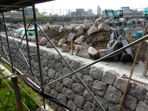 金沢城いもり堀 鯉喉櫓台