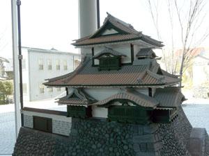 金沢城 辰巳櫓復元模型