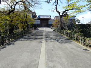 金沢城河北門