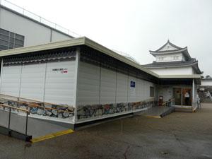 名古屋城 本丸御殿復元 工事見学コーナー