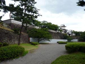 石川門修築工事