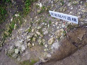 平成22年度松波城庭園跡発掘調査現場説明会