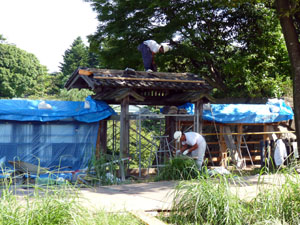 金沢城 石川門修復