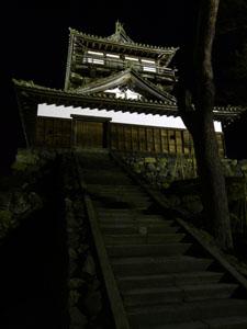 丸岡城ライトアップ
