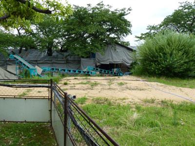 石川門続塀修築