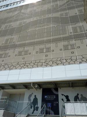 姫路城大天守保存修理工事 天空の白鷺