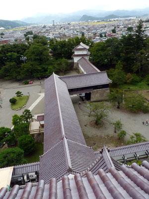 日本100名城スタンプラリー 会津若松城