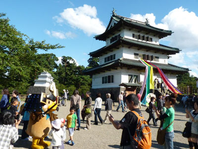 日本100名城スタンプラリー 弘前城