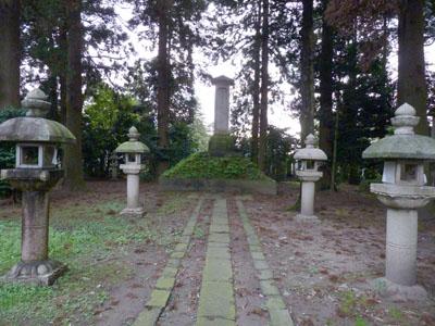 富山藩藩主墓所 長岡御廟
