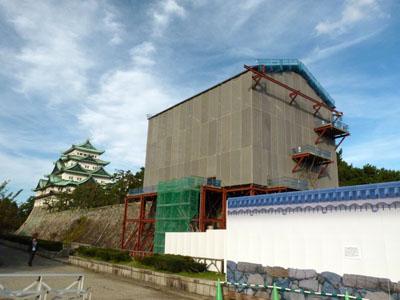 西南隅櫓、旧二之丸東二之門 修復工事