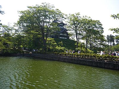 高田城と高田城下町